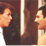Freddy Mercury y David Bowie